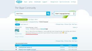 Skype Korean